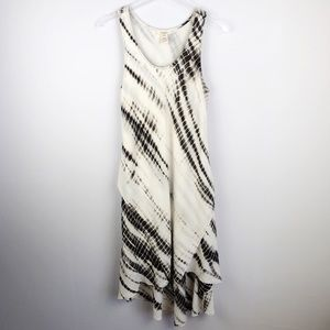 Sundance | Black / White Tie Dye Dress